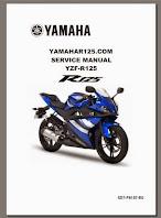 Yamaha YZF R125 Workshop Service Manual Free Download