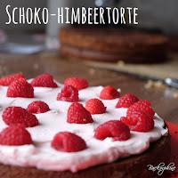 Schoko Himbeer Torte