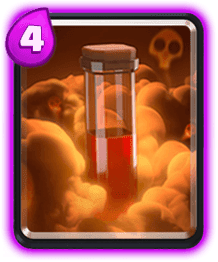 Carta Veneno de Clash Royale - Cards Wiki