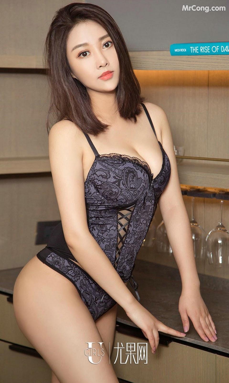 Image UGIRLS-Ai-You-Wu-App-No.814-An-Ying-MrCong.com-001 in post UGIRLS – Ai You Wu App No.814: Người mẫu An Ying (安莹) (40 ảnh)