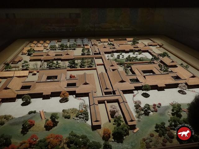 Maquette du palais du Dit du Genji au musée de Uji