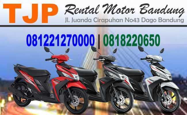 Sewa Rental motor dekat Jl. Layang Pasupati