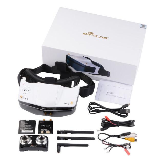 Boscam GS909 3D FPV unboxing