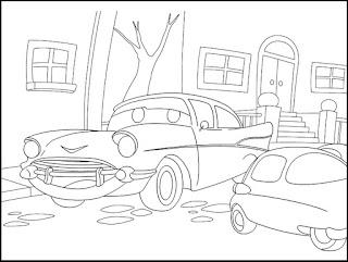 Desenho de carro imprimir e colorir