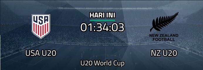 USA U20 vs New Zealand U20