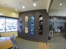 Storeyourboard Snowboard Deck Wall Mounts Gopro