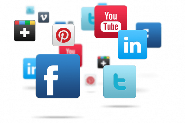 أداة المشاركة على المواقع الإجتماعية