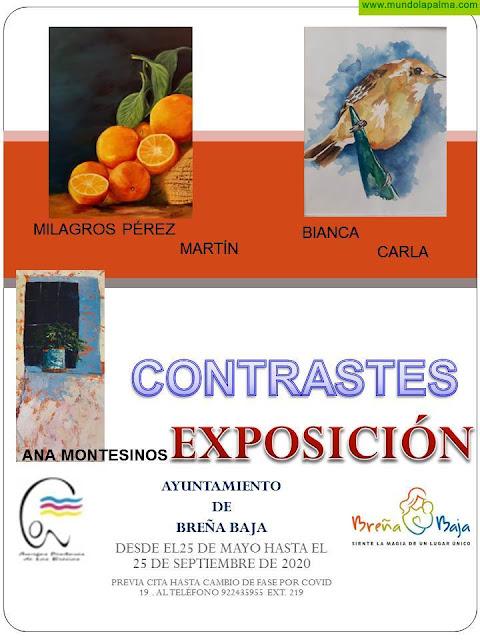 """BREÑA BAJA: Exposición """"Amigos Pintores de Las Breñas"""""""