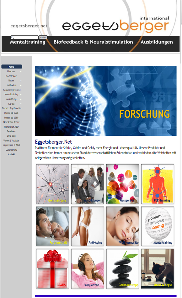 """Unsere Webseite """"www.eggetsberger.net"""" wurde aktualisiert!"""