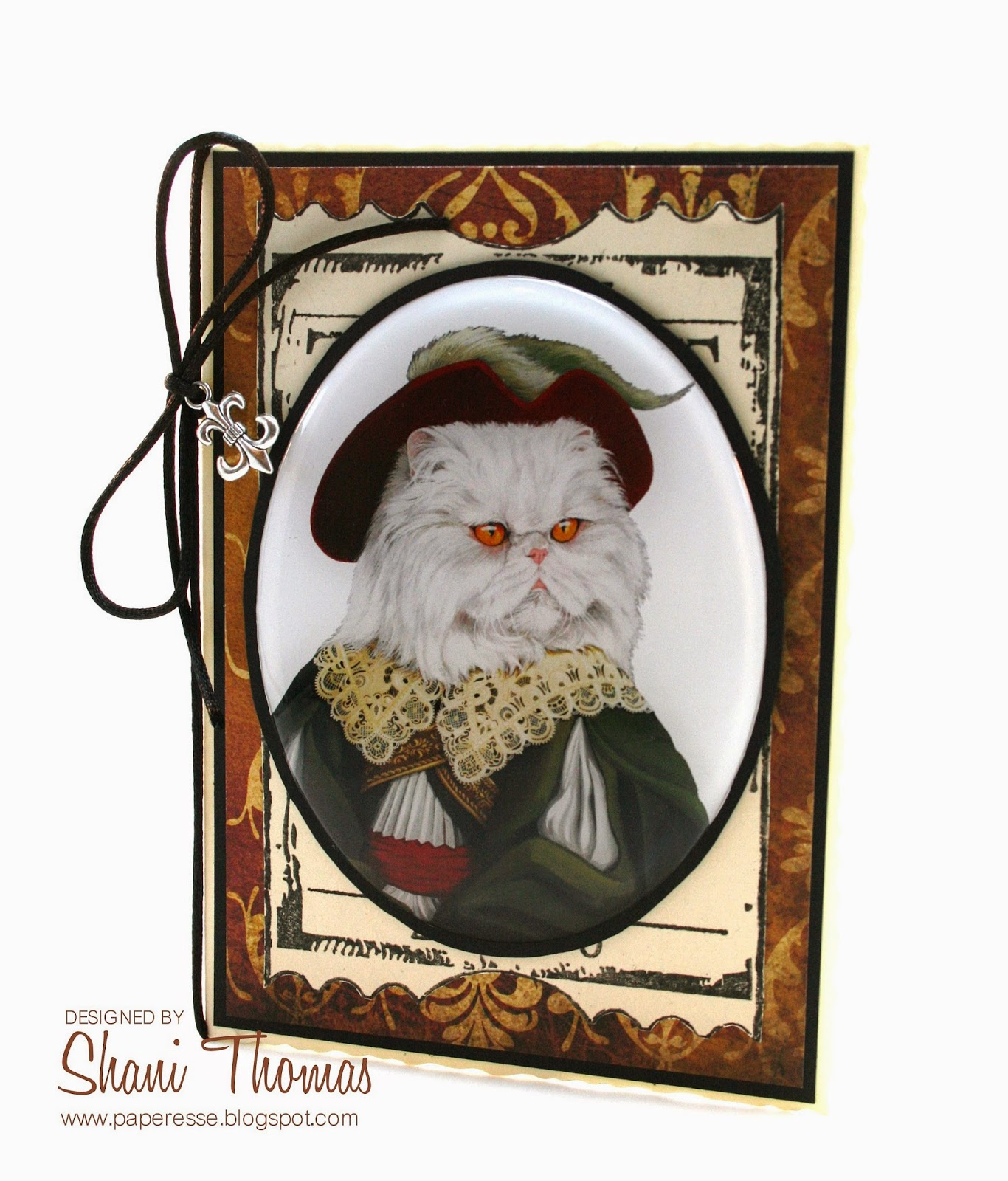Paperesse Funny Persian Cat Birthday Card