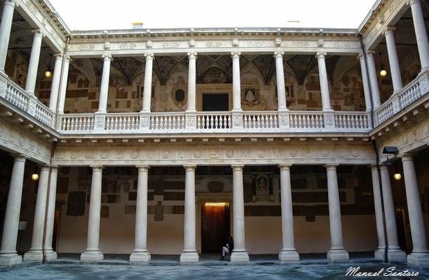 Padova, Palazzo del Bo, Cortile Antico