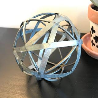 silver decorative ball