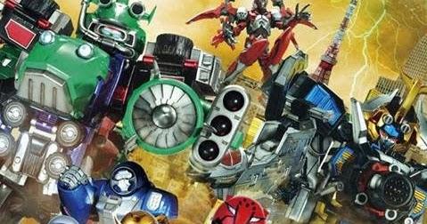 Power Rangers Energy Chasers Revealed