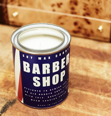 The Barber Shop Candle