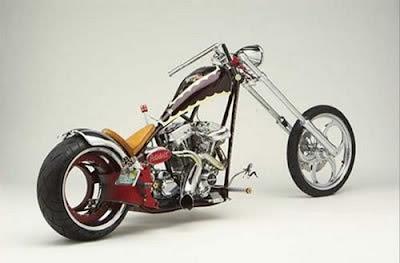 3)Hub-less Harley Davidson(Cost: $ 155,000)