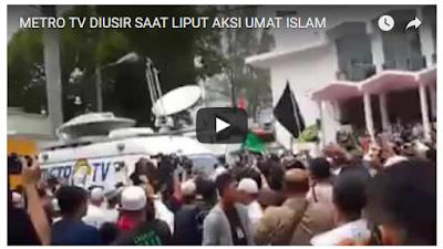 metro tv, anda tidak objektiv dan anti islam