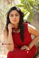 Telugu Actress Zahida Sam Latest Pos in Red Gown at RF Films New Movie Opening  0248.JPG