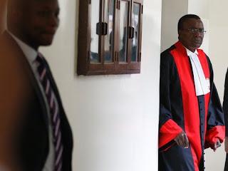 Maraga in Supreme court. PHOTO | FILE