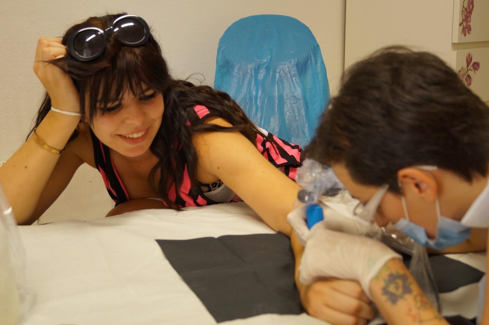 Getting My First Tattoo