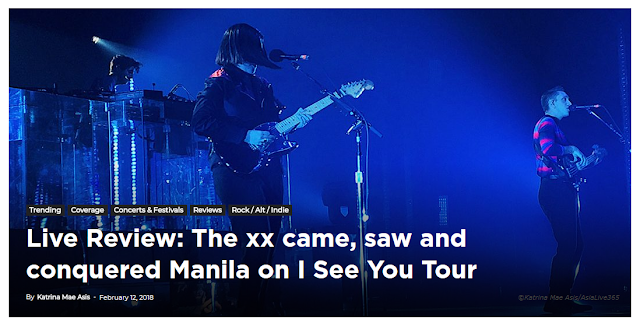 Live Review: The xx came, saw and conquered Manila on I See You Tour