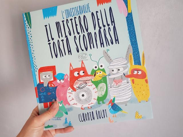 """Libri per bambini: """"L'investigavolpe. Il mistero della torta scomparsa"""" di Claudia Boldi. Edizioni Clichy."""
