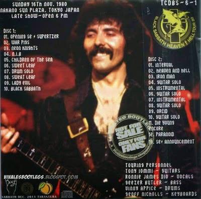 Rock Anthology Black Sabbath Bringer Of Evil 1980 Flac