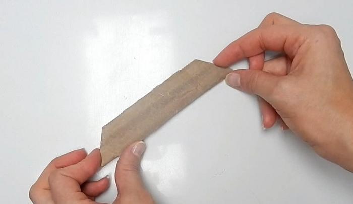 molde artesanato com papelão