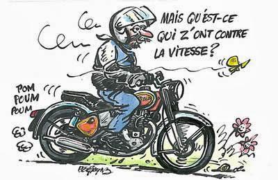 Club des 5a carcassonne - Image drole de motard ...