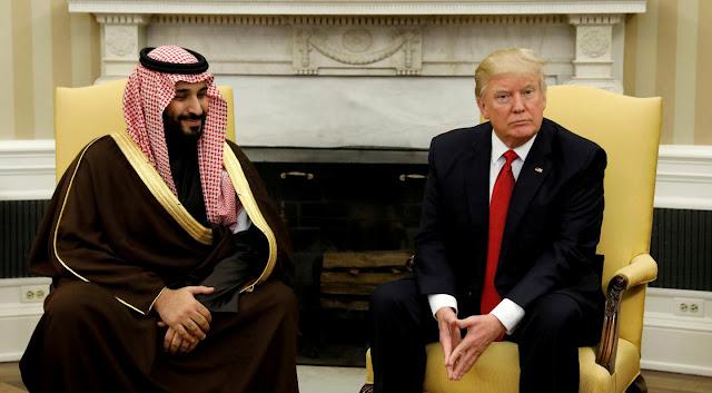 ردود الأفعال حول زيارة ترامب للمملكة العربية السعودية على مواقع التواصل الاجتماعي