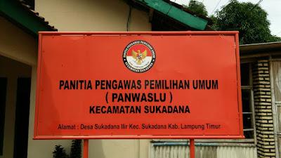 Panwaslu Kecamatan Sukadana Buka Pendaftaran PPL 2018
