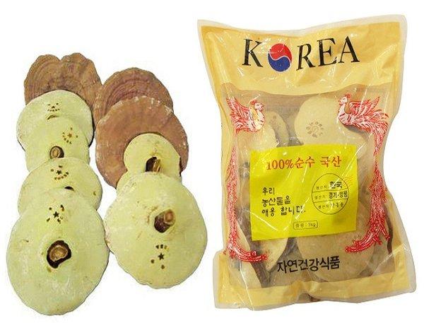 Nấm linh chi Hàn Quốc là loại nấm có giá trị tốt nhất