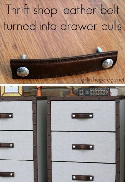 pas banget kalau gagang laci dari kulit sintetis ini dipasang di lemari kamar anak-anak anda.