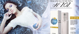 La imitación del perfume femenino Luna de Nina Ricci en Millanel Sj Fragancias