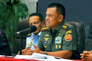 Himbauan Panglima TNI Jendral Gatot Nurmantyo Tangkap Pelaku Sweeping Atribut Natal dan Serahkan ke Polri - Commando