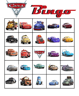 free Cars 3 party games