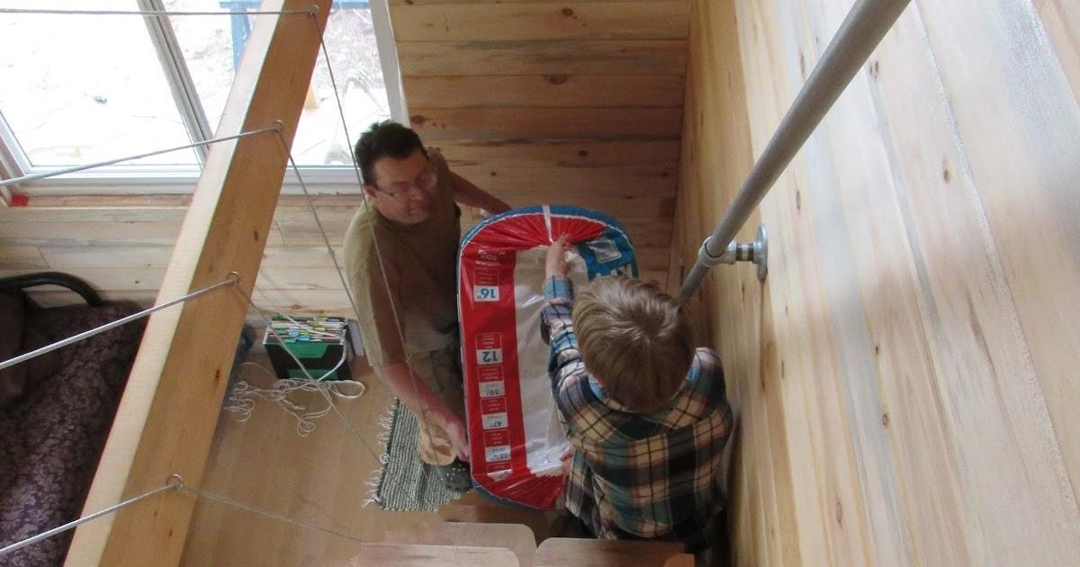 Aiki homestead adding stone wool roxul insulation to for Roxul mineral insulation