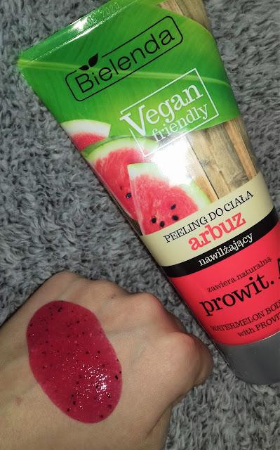 Bielenda vegan friendly peeling do ciała nawilżający arbuz i prowitamina A