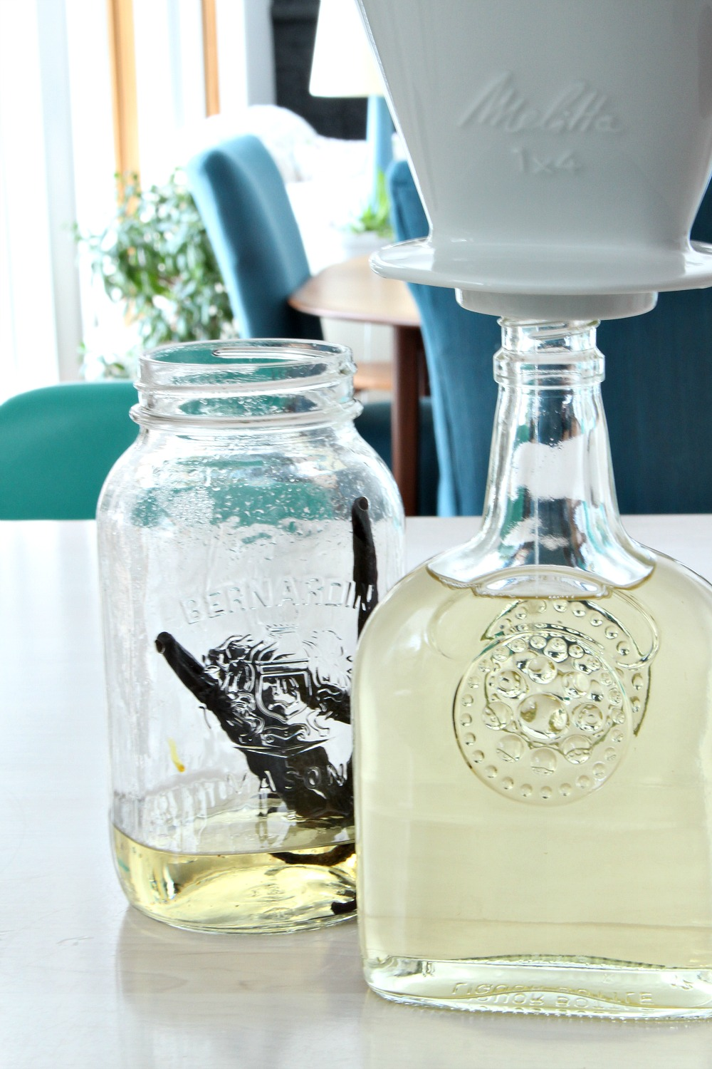 How to strain vodka infusions