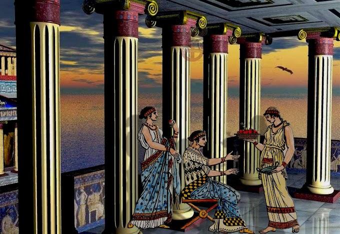 Περί διατροφής των Αρχαίων Ελλήνων.