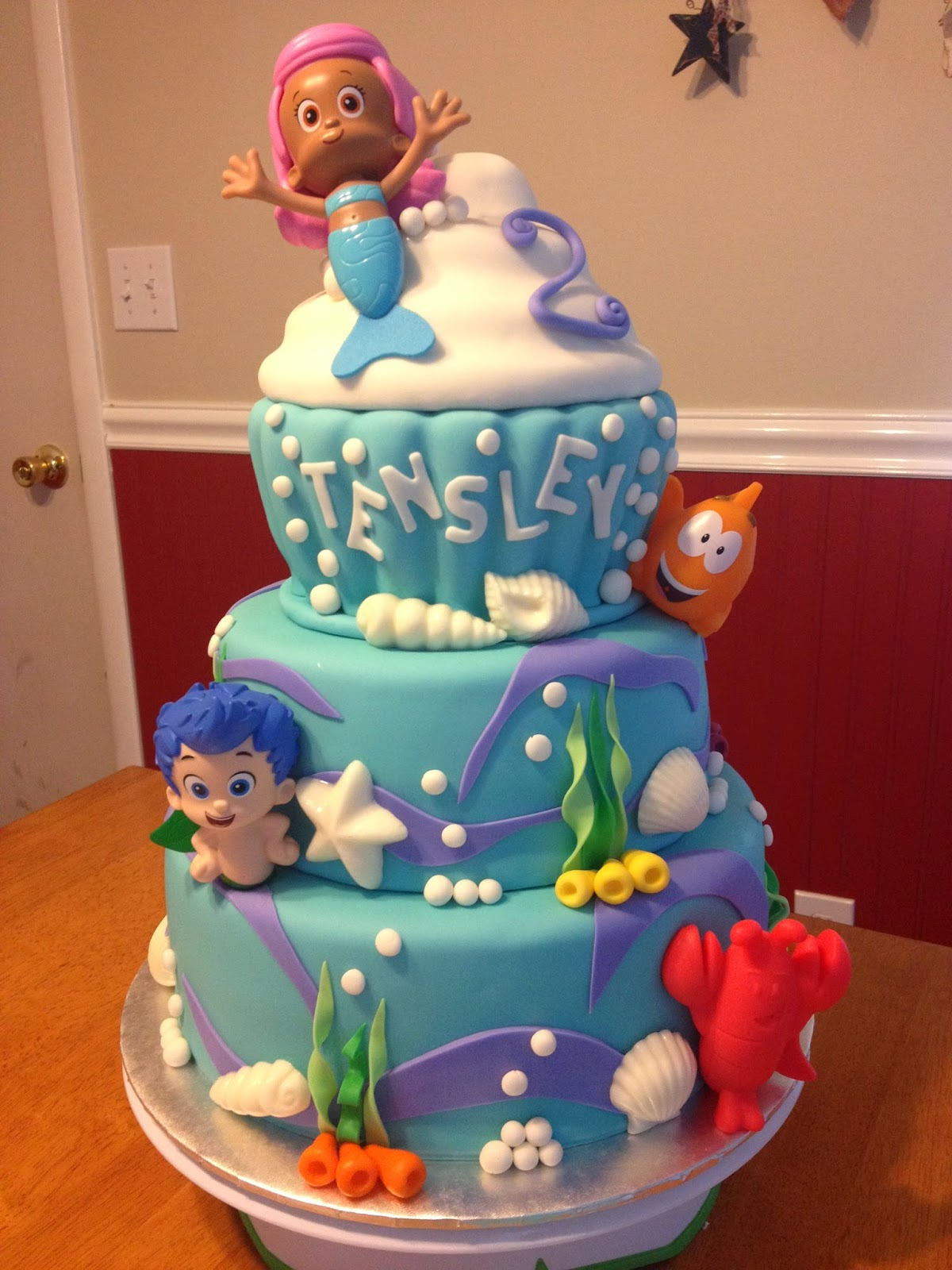 Sugar Love Cake Design Bubble Guppies