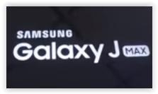 samsung galaxy j max logo