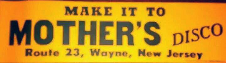 Mother's rock club rt23 Wayne, New Jersey bumper sticker
