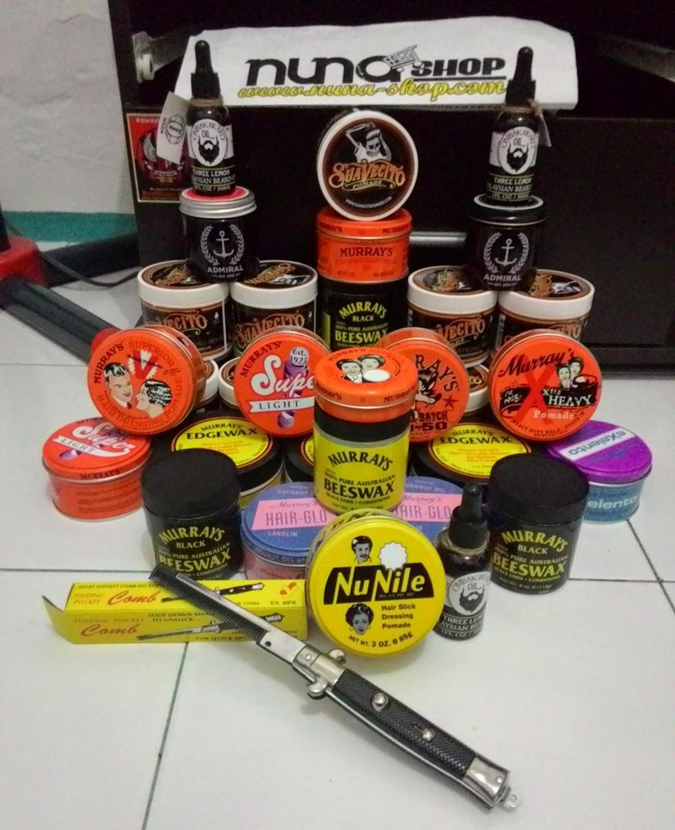 Ready Stock Jenis-Jenis Minyak Rambut Pomade Nuna Shop 2015