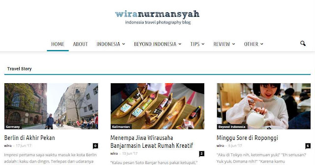 Wiranurmansyah.com - Blog Travel Terbaik Di Indonesia