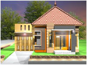 Desain Rumah Sederhana Tampil Mewah