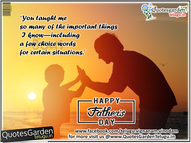 Best of Fathers day greetings wishes messages