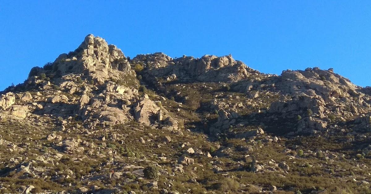 Sierra de Madrid y Mas: Manzanares el Real, Senda de las