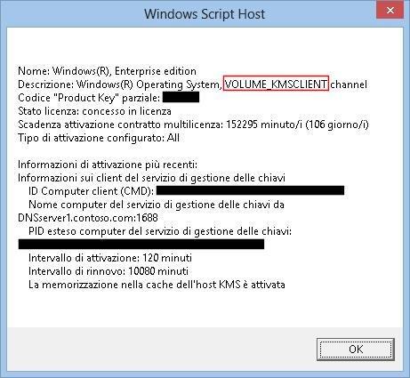 Licenza di Windows