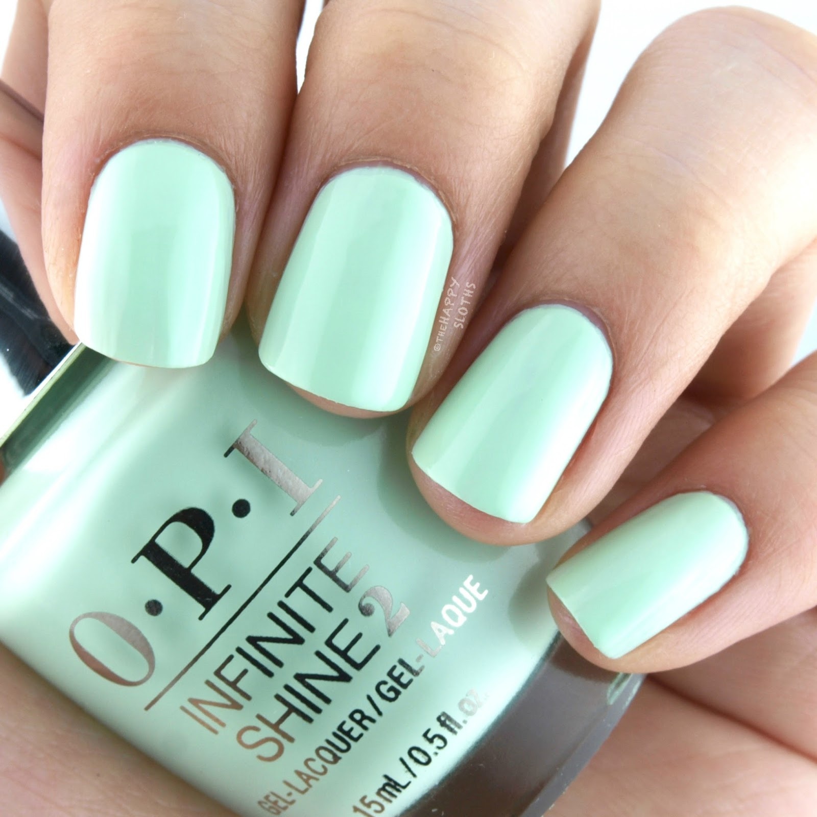 OPI Infinite Shine It's Hula-rious! Swatches Review