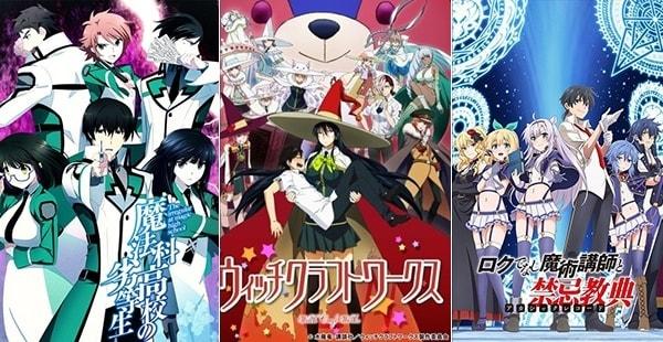 13 Rekomendasi Anime Magic School Terbaik